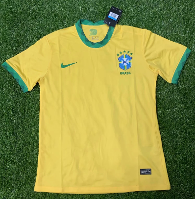 Thai Version Brazil 2020 Home Soccer Jersey