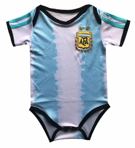 Argentina 2020 Home Kit Baby Bodysuits
