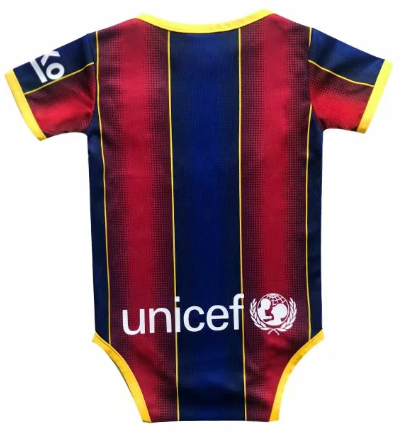 BARCELONA 20/21 Home Kit Baby Bodysuits