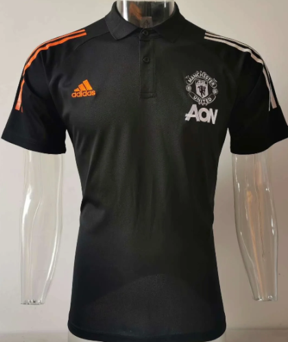 Manchester United 20/21 Polo - Black