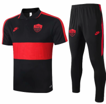 AS Roma 19/20 Polo and Pants - C407