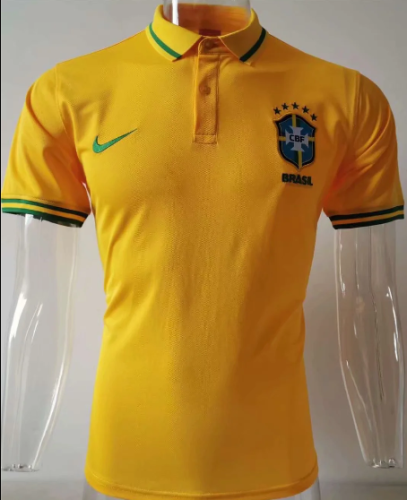 Brazil 2020 Polo - Yellow