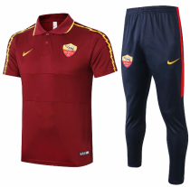 AS Roma 20/21 Polo and Pants - C433