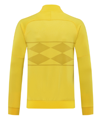 Brazil 2020 Sports Jacket - Yellow