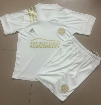 Atlanta United FC 20/21 Away Soccer Jersey and Short Kit