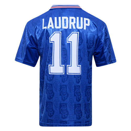 Rangers 1996/97 Laudrup Home Retro Jersey