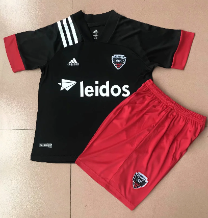 D.C. United 20/21 Kids Home Soccer Jersey and Short Kit