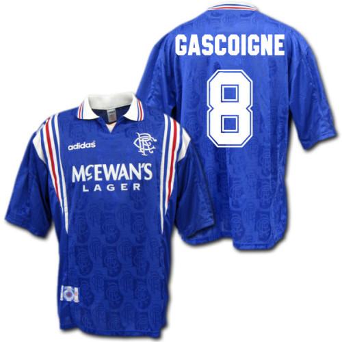 Rangers 1996/97 Gascoigne Home Retro Jersey