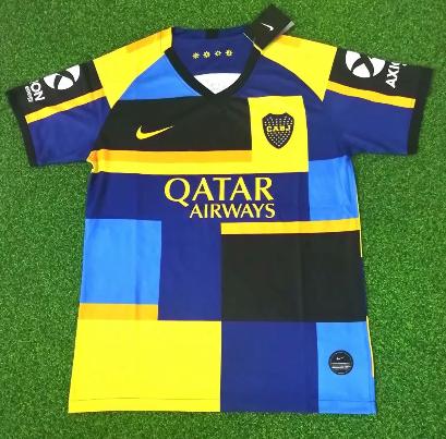 Thai Version Boca Juniors 20/21 Souvenir Edition Soccer Jersey