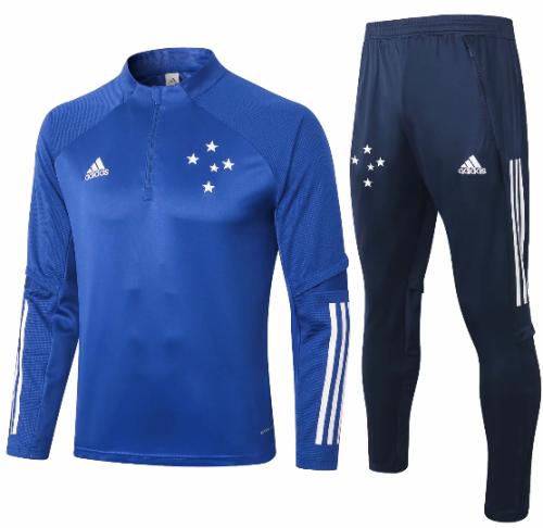 Cruzeiro 20/21 Soccer Training Top and Pants - B378