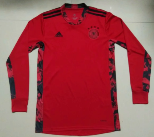 Thai Version Germany 2020 LS Goalkeeper Soccer Jersey