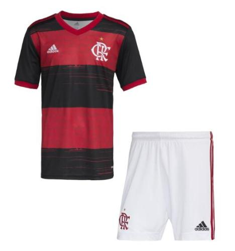 Flamengo 20/21 Home Soccer Jersey and Short Kit