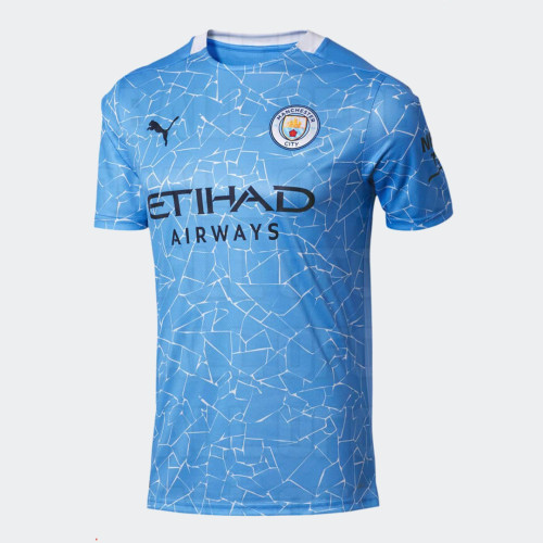 Thai Version Manchester City 20/21 Home Soccer Jersey