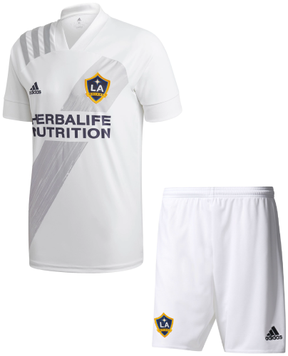 Los Angeles Galaxy 20/21 Home Soccer Jersey and Short Kit