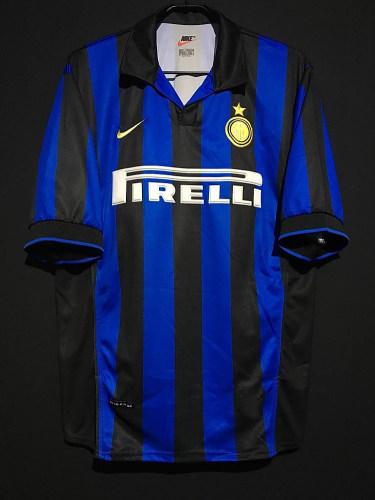 Inter Milan 1998/1999 Ronaldo Retro Home Jersey