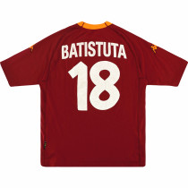 AS Roma 2000-2001 Batistuta Home Retro Jersey