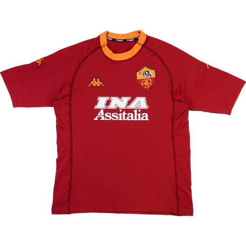 AS Roma 2000-2001 Totti Home Retro Jersey