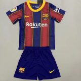Barcelona 20/21 Kids Home Soccer Jersey and Short Kit