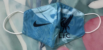 Liverpool Face Mask - Blue