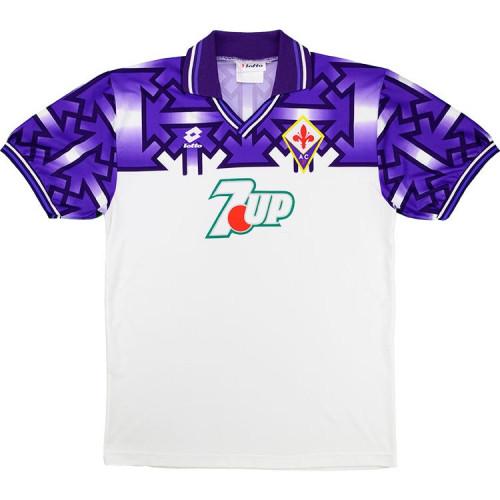 Fiorentina 1992/1993 Away Retro Soccer Jerseys