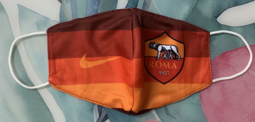 AS Roma Face Mask