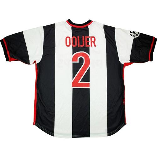PSV 1998-99 UCL Ooijer Away Retro Jersey