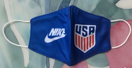 USA Face Mask - Blue