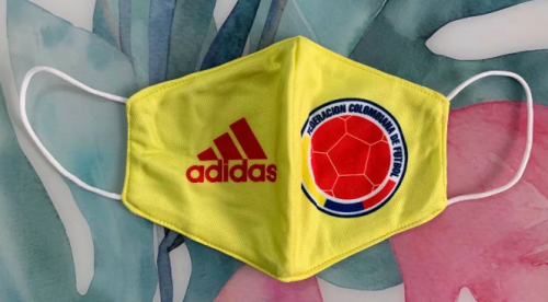Colombia Face Mask - Yellow