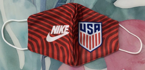 USA Face Mask - Red