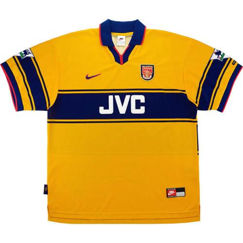 Arsenal 1997-99 Overmars Away Retro Jersey