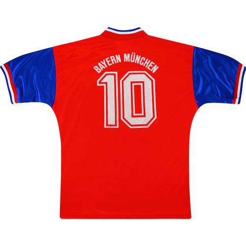 Bayern Munich 93-95 Matthäus Home Retro Jersey