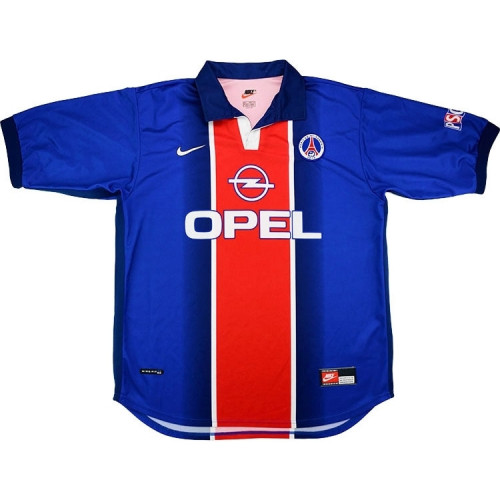 PSG 1998-99 Home Retro Soccer Jersey