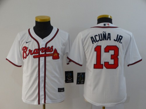 Youth's Baseball Club Team Replica Player Jersey