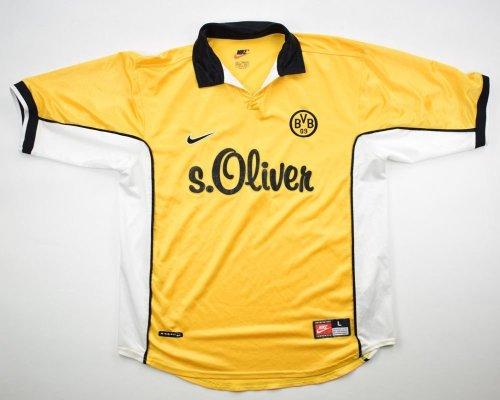 Borussia Dortmund 1998/00 Moller Home Retro Jersey