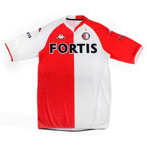 Feyenoord 2007-08 Makaay Home Retro Jersey