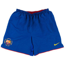 Barcelona 2007/2008 Home Retro Soccer Shorts