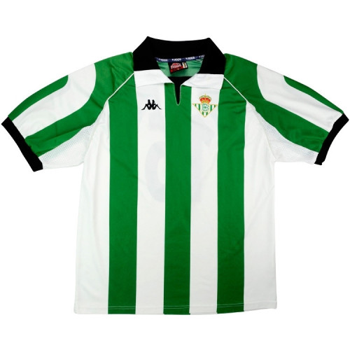 Real Betis 1998-99 Home Retro Soccer Jersey