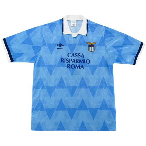 Lazio 1989/1991 Home Retro Soccer Jersey