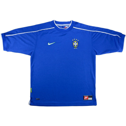 Brazil 1998/2000 Away Retro Soccer Jersey