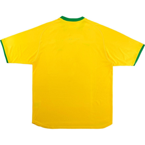 Brazil 2000/2002 Home Retro Soccer Jersey
