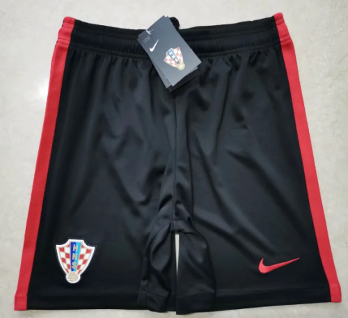 Thai Version Croatia 2020 Away Soccer Shorts