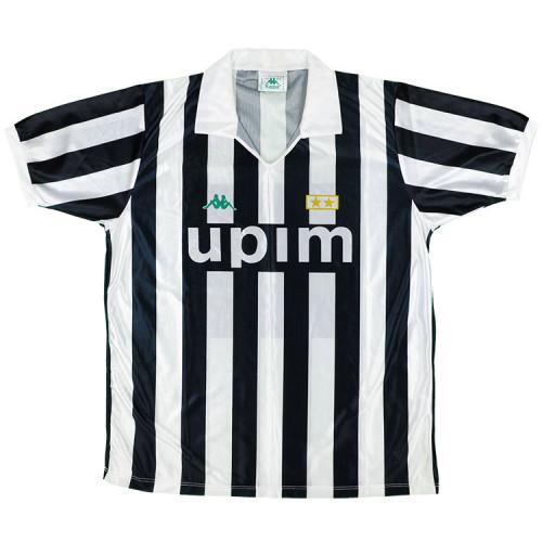Juventus 1991-92 Home Retro Soccer Jersey