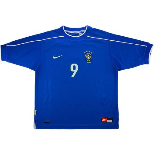 Brazil 1998/2000 Ronaldo Away Retro Jersey
