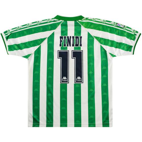 Real Betis 1995-97 Finidi Home Retro Jersey