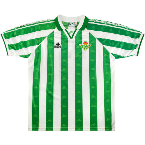 Real Betis 1995-97 Home Retro Soccer Jersey