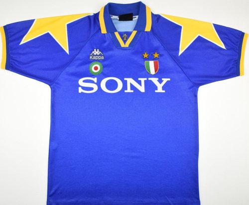 Juventus 1995-97 Away Retro Soccer Jersey