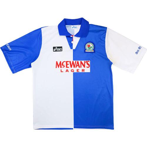 Blackburn 1994-95 Home Retro Soccer Jersey
