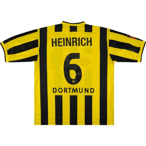 Dortmund 2000-02 Heinrich Home Retro Jersey
