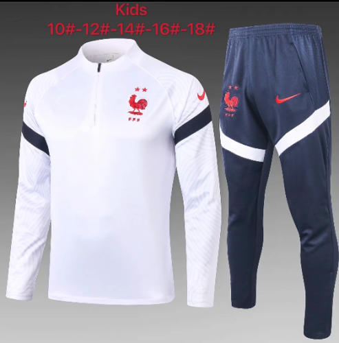 France 2020 Kids Training Top and Pants - E442