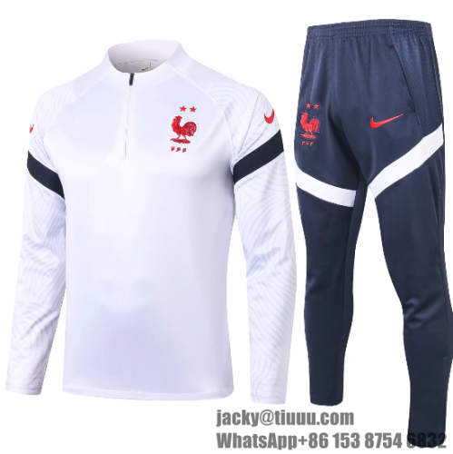 France 2020 Soccer Training Top and Pants - #B391